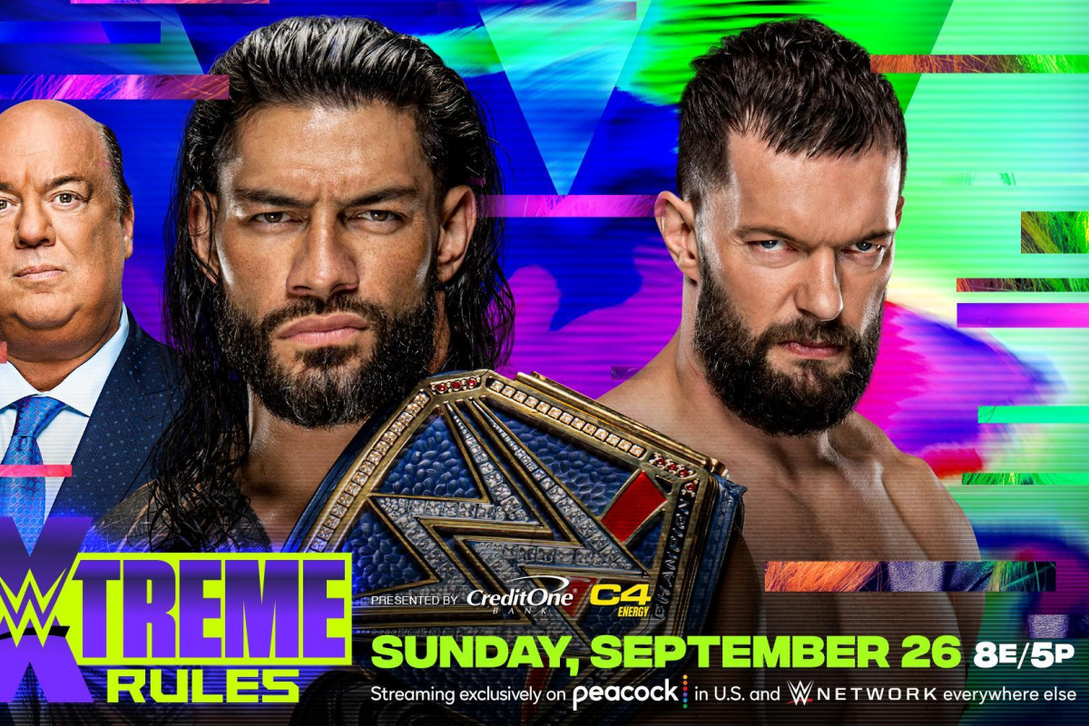 WWE Universal Title Match Between Roman Reigns And Finn Balor Official For WWE Extreme Rules - Fightful