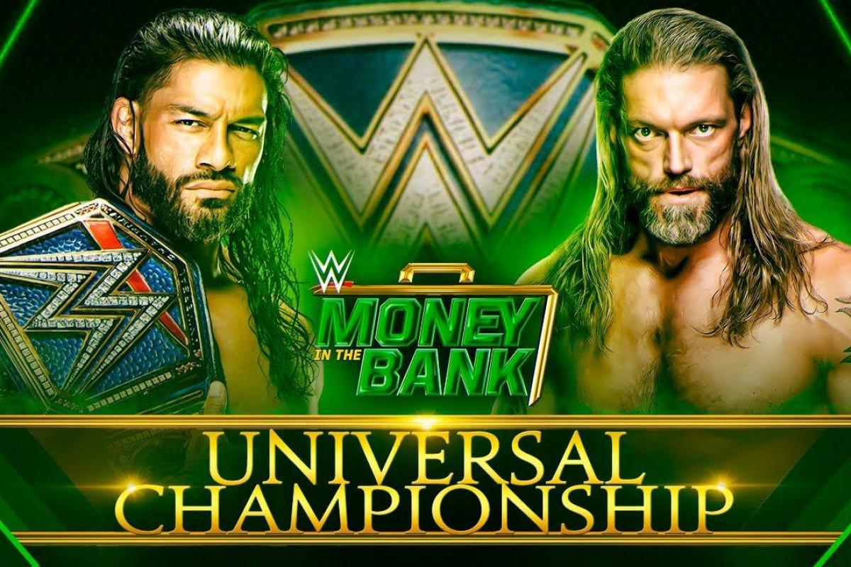 Wwe Money In The Bank 2021 Wwe Universal Championship Roman Reigns Vs Edge Result Fightful News