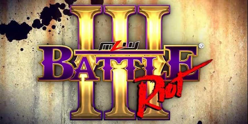 Spoilers MLW Battle Riot III