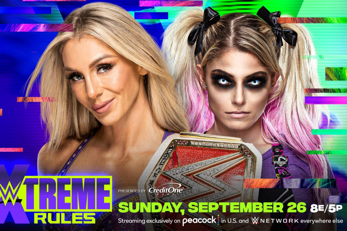 WWE Raw Women's Title Match Set For WWE Extreme Rules 2021 - Fightful